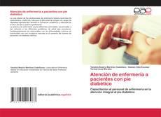 Portada del libro de Atención de enfermería a pacientes con pie diabético