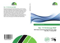 Bookcover of No. 11/18 Group RAF
