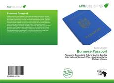 Borítókép a  Burmese Passport - hoz
