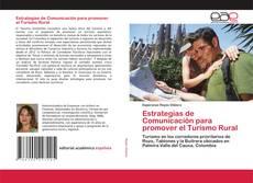 Portada del libro de Estrategias de Comunicación para promover el Turismo Rural