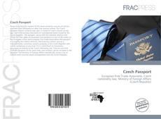 Portada del libro de Czech Passport