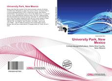 Bookcover of University Park, New Mexico