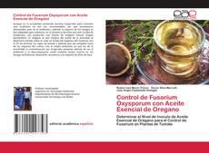 Portada del libro de Control de Fusarium Oxysporum con Aceite Esencial de Oregano