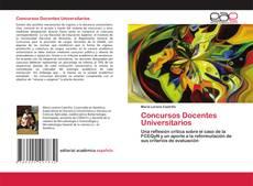 Concursos Docentes Universitarios的封面