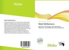 Buchcover von Matt McNamara