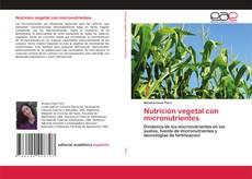Capa do livro de Nutrición vegetal con micronutrientes