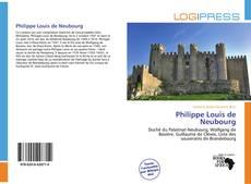 Couverture de Philippe Louis de Neubourg