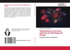 Capa do livro de Simbolismo en la feria patrona de Santiago de Anaya
