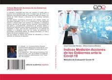 Bookcover of Índices Medición Acciones de los Gobiernos ante la Covid-19