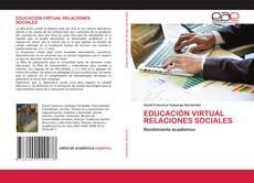Couverture de EDUCACIÓN VIRTUAL RELACIONES SOCIALES