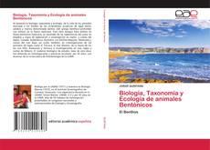 Portada del libro de Biología, Taxonomía y Ecología de animales Bentónicos