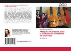 Portada del libro de Arreglos musicales para la adaptación al formato de orquesta
