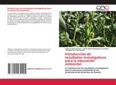 Capa do livro de Introducción de resultados investigativos para la educación ambiental