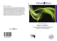 Bookcover of Matt Lambros
