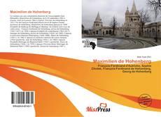 Portada del libro de Maximilien de Hohenberg