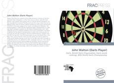 Capa do livro de John Walton (Darts Player)