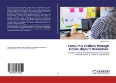 Capa do livro de Consumer Redress through Online Dispute Resolution