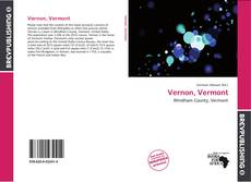 Bookcover of Vernon, Vermont