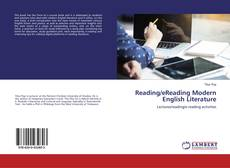 Copertina di Reading/eReading Modern English Literature