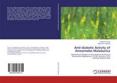 Copertina di Anti-diabetic Activity of Anisomeles Malabarica