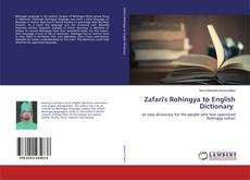 Zafari's Rohingya to English Dictionary kitap kapağı