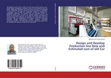 Borítókép a  Design and Develop Production line Rate and Estimated cost of old Car - hoz