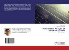 Performance Analysis of Solar PV Systems的封面