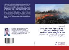 Bookcover of Conservation Agriculture & Residue Management-Lessons from Punjab & WB