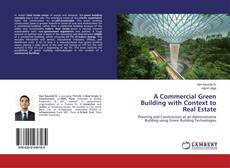 Buchcover von A Commercial Green Building with Context to Real Estate