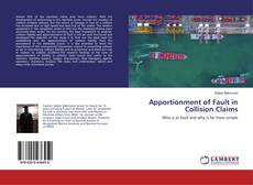 Capa do livro de Apportionment of Fault in Collision Claims