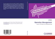 Bookcover of Operation Management