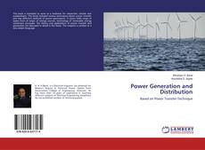 Copertina di Power Generation and Distribution