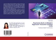 Capa do livro de Payments Bank: A Modern Approach Towards Cashless India