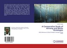 Portada del libro de A Comparative Study of Annang and Bantu Ontologies