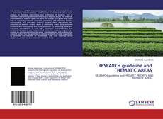 Bookcover of RESEARCH guideline and THEMATIC AREAS