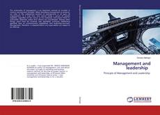 Bookcover of Management and leadership