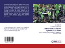 Bookcover of Spatial variability of Agricultural fields