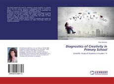 Capa do livro de Diagnostics of Creativity in Primary School