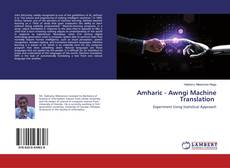 Couverture de Amharic - Awngi Machine Translation