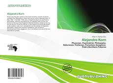 Bookcover of Alejandro Korn