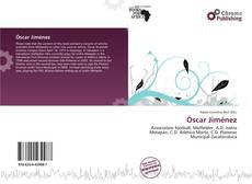 Portada del libro de Óscar Jiménez