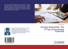 Buchcover von Forensic Accounting : The 3rd Eye of Accounting Fraternity