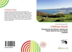 Buchcover von L'Abbaye (Vaud)