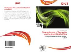 Bookcover of Championnat d'Australie de Football 2008-2009