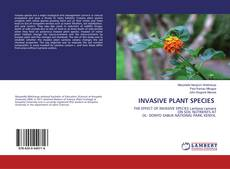 Обложка INVASIVE PLANT SPECIES