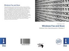 Windows Fax and Scan kitap kapağı