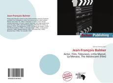 Capa do livro de Jean-François Balmer