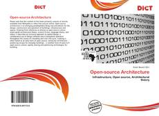Bookcover of Open-source Architecture