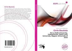 Capa do livro de Cirilo Bautista