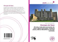 Capa do livro de Georges de Saxe
